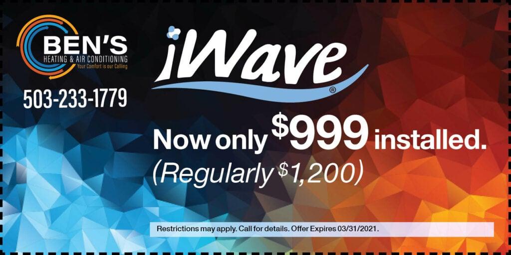 BEN 999-iWave-coupon