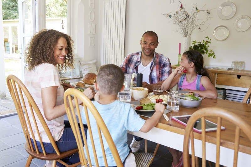 Family Around Table